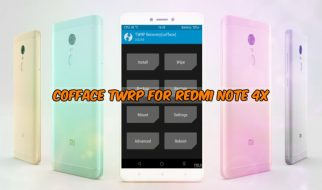 Modded TWRP v3 2 1-0 for Redmi Note 4 (Vendor Support