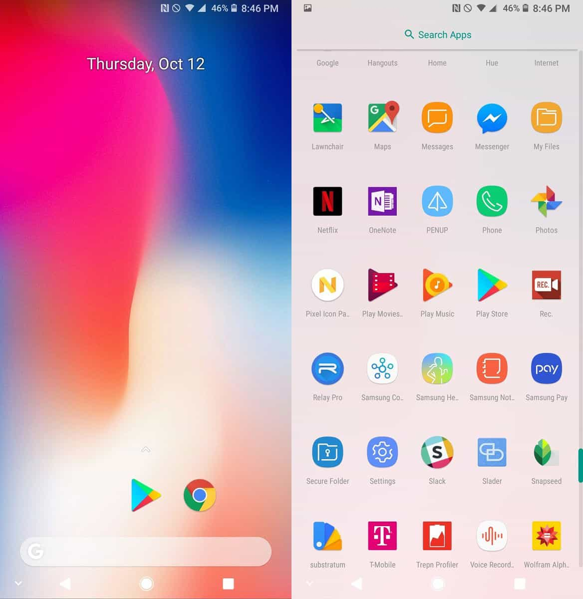 Google Pixel 2 Launcher for Nougat and Marshmallow Devices - Android