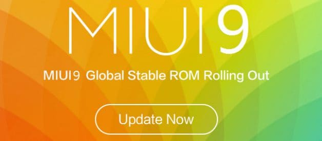 MIUI 9 v9 1 2 0 Global Stable ROM for Redmi Y1 - Android
