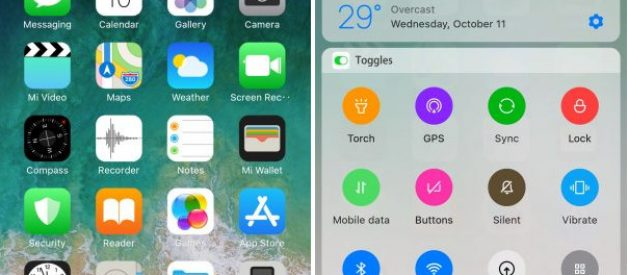 iOS 11 Touch You v1 0 1 Theme for MIUI 9 - Android File Box