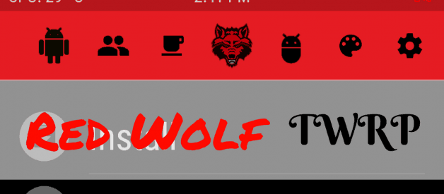 Red Wolf TWRP for Redmi Note 5 Pro/Global/China (Codename