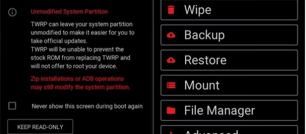 Red Wolf Recovery for Redmi Note 5A (Ugglite) - Android File Box