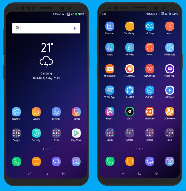 Pure SGS9+ MIUI 9 Theme (v1 4) - Android File Box