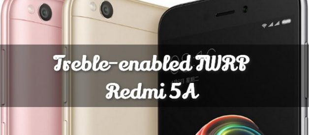 Modded TWRP v3 2 1-1 for Redmi 5A (Vendor Support) - Android File Box