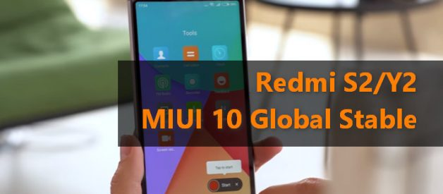 MIUI 10 Global Stable ROM v10 0 1 0 OEFMIFH for Redmi S2/Y2